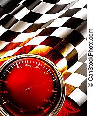 Racing Background Vertical, 10eps