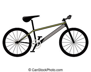 Racing bicycle icon