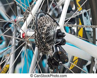 gear shift - Racing bike gear shift system