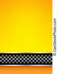 Racing blank background