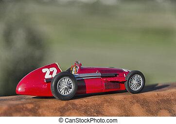 Racing car of the Nuvolari era