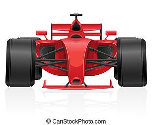 racing car vector illustration EPS 10