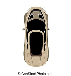 Racing car, Vector illustration