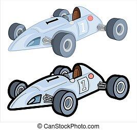 Racing Cars Vector Designs