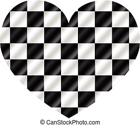 Racing checkered  flag Background