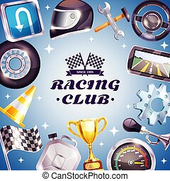 Racing Club Frame