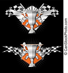 Racing emblems series