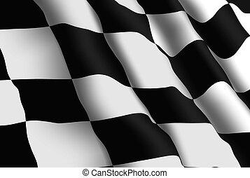 Racing Flag Wallpaper