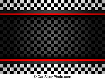 Racing horizontal backdrop, vector illustration 10eps