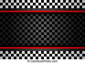 Racing horizontal backdrop, vector illustration 10eps