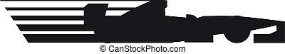 Racing icon - Creative design of racing icon