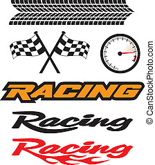 Racing Icons - A selection of motorsports icons.