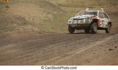 Racing in the absence of roads - Racing without rules for...