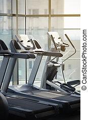 racing simulators in the gym