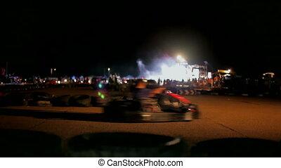 Racing sports cars