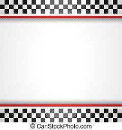 Racing square background, vector illustration template 10eps