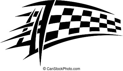 racing, stamme, tatovering