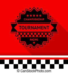 Racing stamp-11