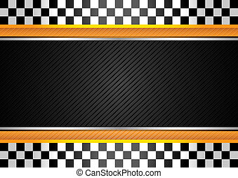 Racing striped background. Vector design 10 eps
