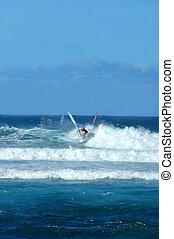 Racing the Waves