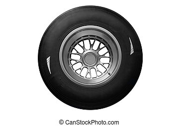 tire  - racing tire isolated