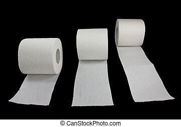 Racing toilet paper 2