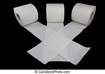Racing toilet paper 3