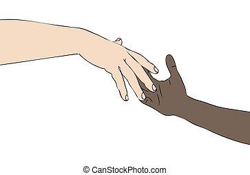 racismo, contra