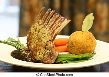 rack of Lamb - Lamb