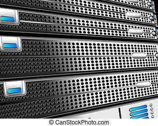 Rack of Servers