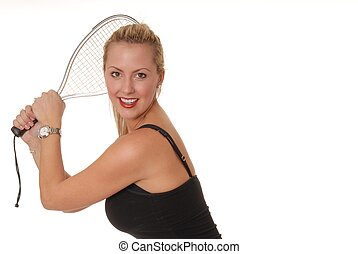 Racket Girl 1