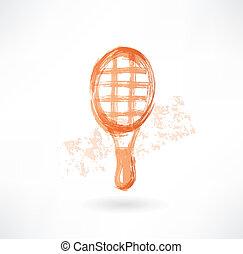 racket grunge icon