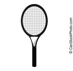 racket tennis sport equipment icon