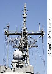 radar, comms