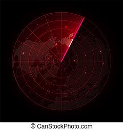 radar, ekran