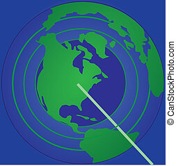 radar, globalny