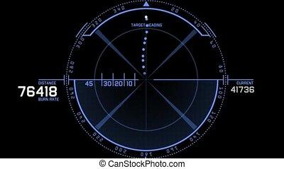 radar, jeu, informatique, gps, interface