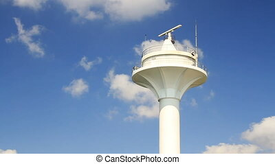 Radar navigation tower