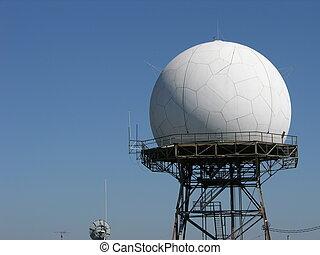 Radar - doppler radar tower
