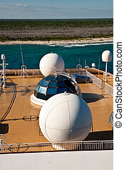 Radar Receivers on Ships Deck