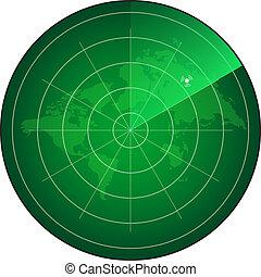 radar, scherm