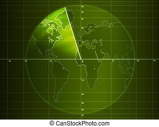 Radar - Artwork - Radar screen with details