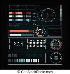 radar, toekomst, interface