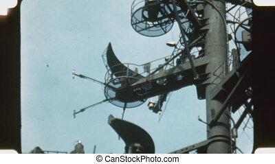 Radar. - Vintage 1960%u2019s 16mm film footage. Radar on US...