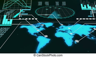 "radar"", ""volumetric, avion, animation"