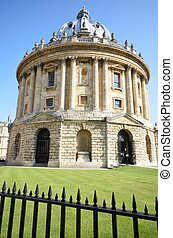 Radcliffe Camera and railings