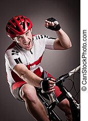 radfahrer, fahrrad