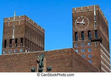 City Hall (Radhuset), Oslo, Norway