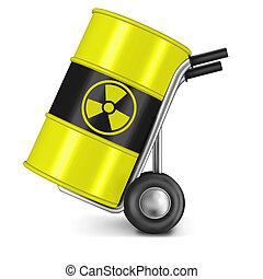 radia active waste