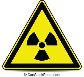 radiación, señal
